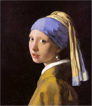Johannes Vermeer, Girl with a Pearl Earring, 1665-1666, oil on canvas
