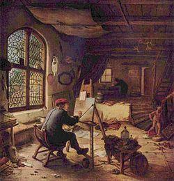 Adriaen van Ostade, Selfportrait, 1663