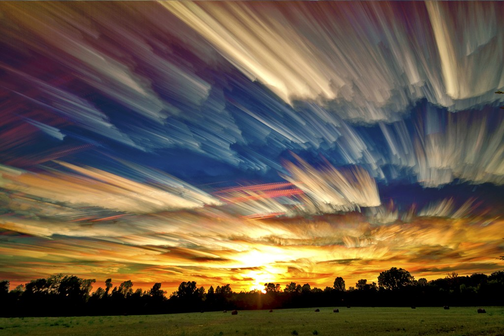 Smeared Sky Sunset