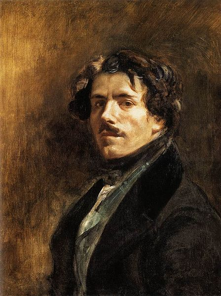 Eugene Delacroix, Self Portrait, c. 1837, oil on canvas