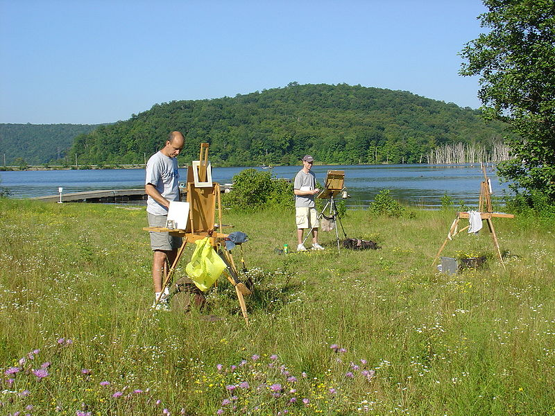 800px-Plein_Air_Painters_at_Long_Pond,_Ringwood,_NJ