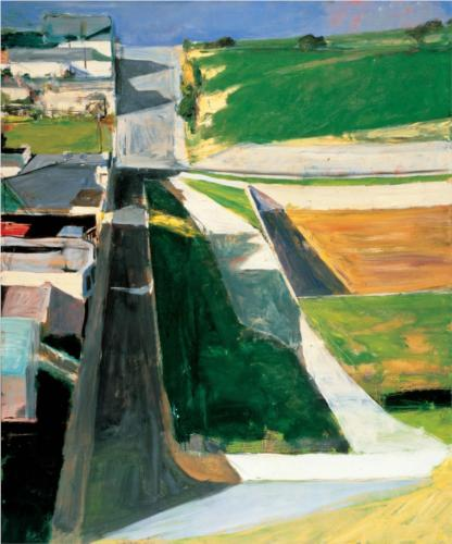 Richard Diebenkorn, Cityscape I, 1963, oil on canvas