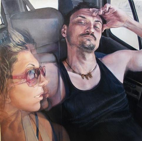 Felicita Norris, Underwhelmed, 2011, acrylic on canvas