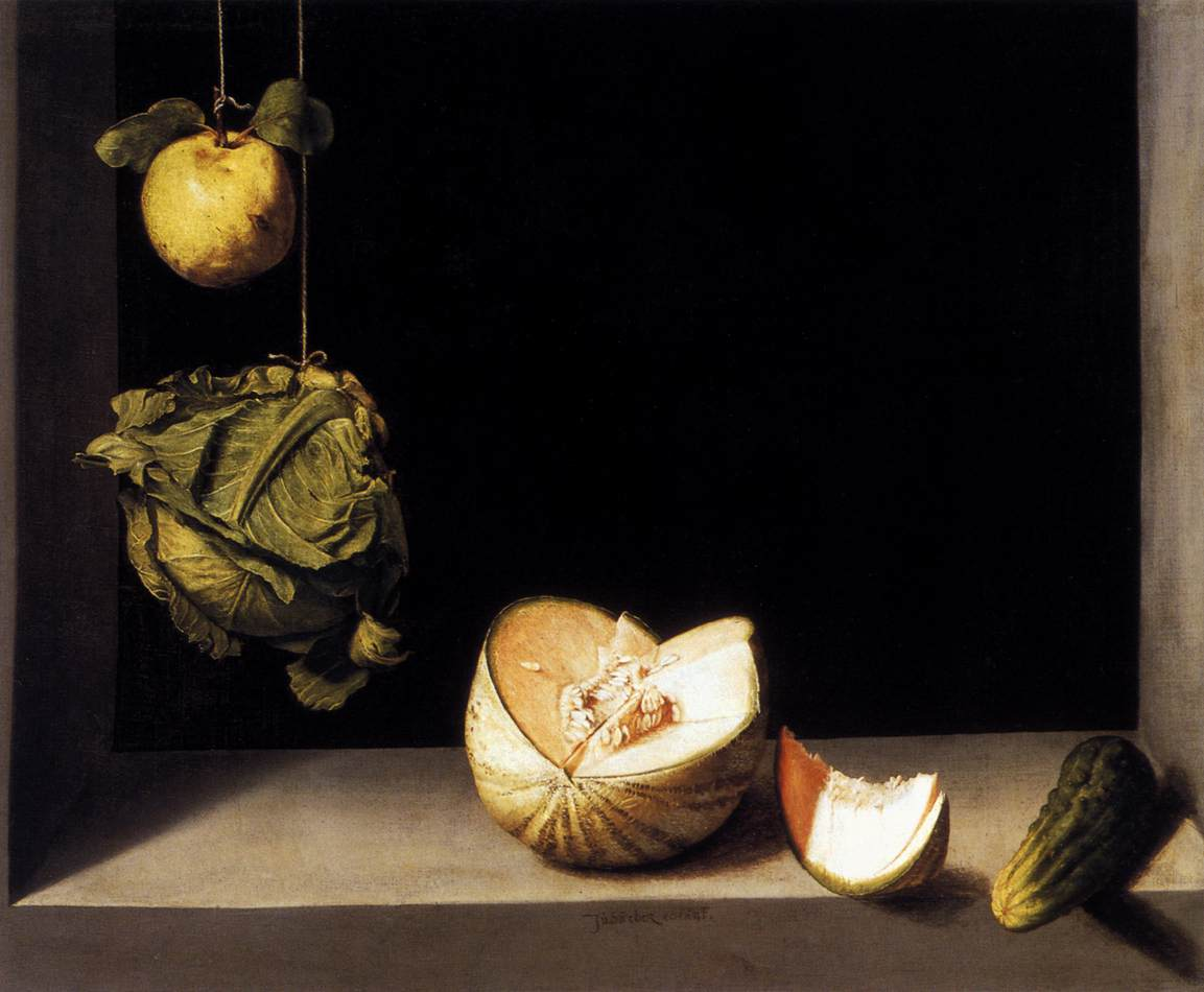 Juan Sánchez Cotán, Quince, Cabbage, Melon, and Cucumber, 1602
