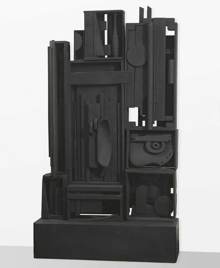 Louise Nevelson, Lunar Landscape, 1959-1960, Painted wood, Amon Carter Museum of American Art, Fort Worth, Texas, Purchase with funds from the Ruth Carter Stevenson Acquisitions Endowment; 1999.3.A-J