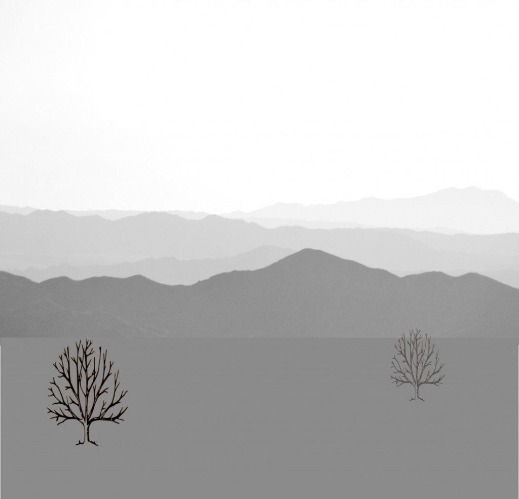 Mountains_BW-trees-only