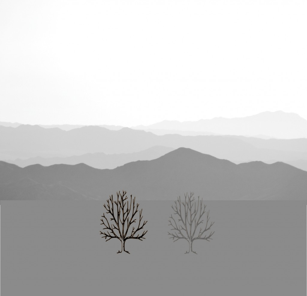 Mountains_BW-trees-only-sameplane