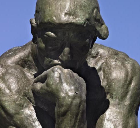 The Thinker (detail)