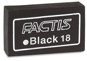 Black eraser