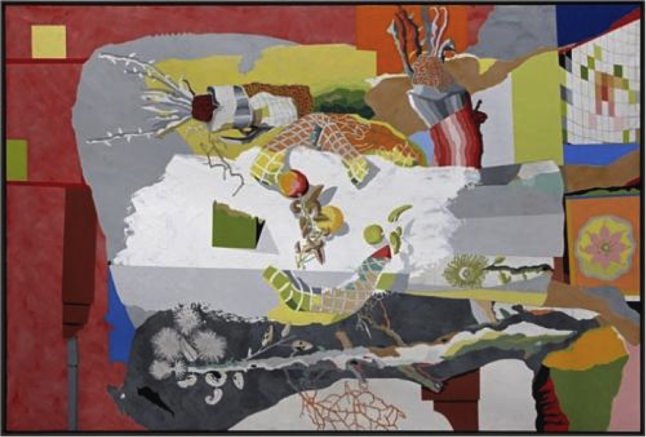 Jorge Castillo, The House in the Country, 2008, acrylic on canvas