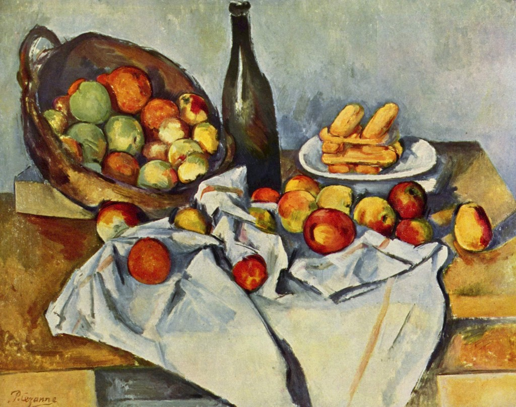 Paul Cezanne, Basket of Apples, 1895, oil on canvas