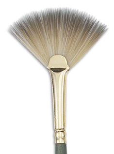 fan-brush