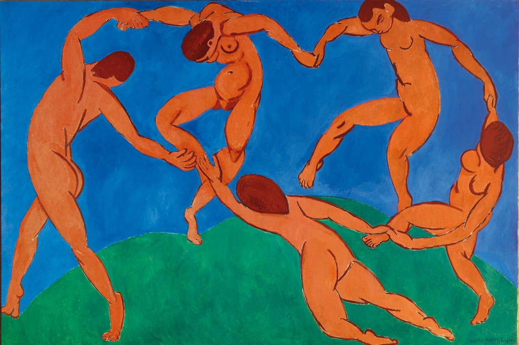 Henri Matisse, The Dance, 1910, oil on canvas