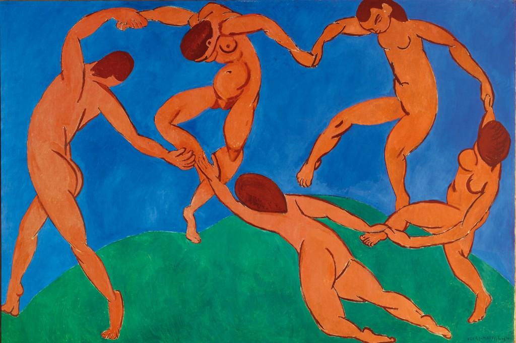 Henri Matisse, The Dance, 1910, oil on canvas