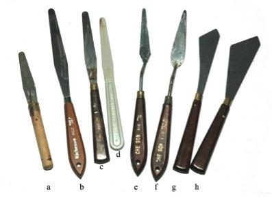 paletteknives