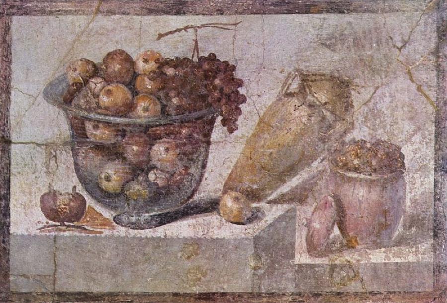 Pompeiian Still Life, ca. 63-79 AD