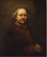 Rembrandt, Self-Portrait, 1669, oil on canvas