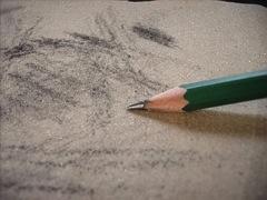 sandpaper pencil