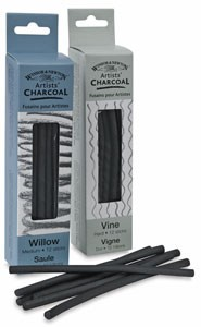 Vine charcoal
