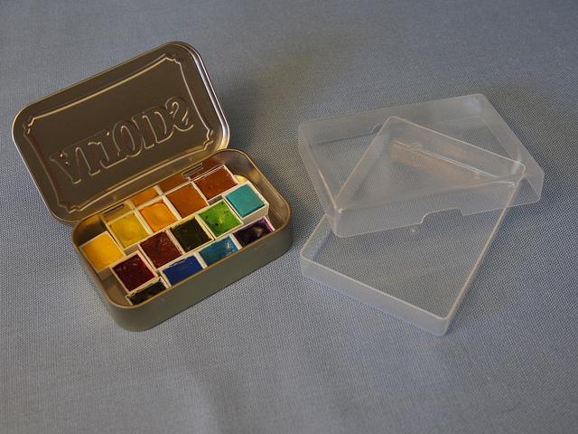 altoids watercolor tray