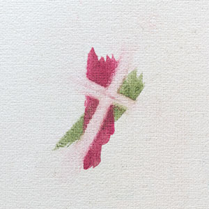 Watercolor lift technique