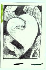 Calla Lily Value Sketch