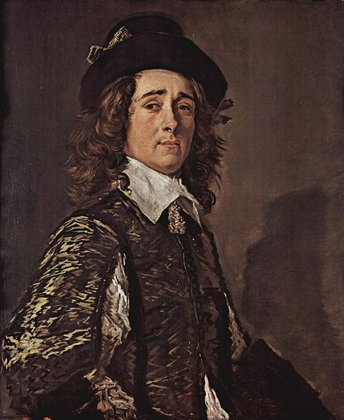 "Frans Hals, Portrait of Jasper Schade van Westrum, 1645, oil on canvas, 31.5"" x 26.6"""