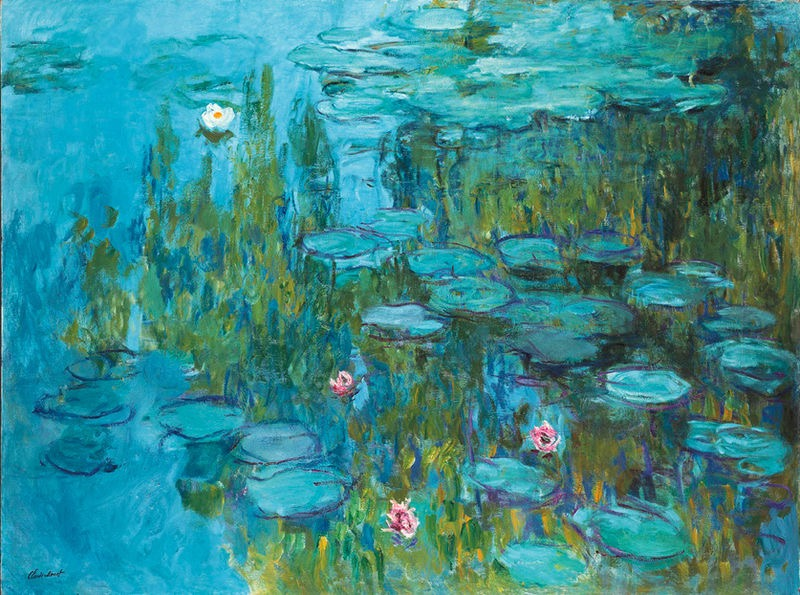 Claude Monet, Water Lilies, c. 1915, oil on canvas
