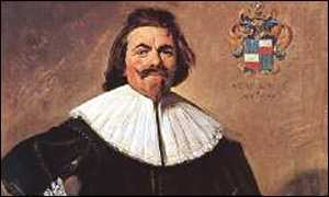 Frans Hals, Portrait of Tielemen Roosterman, oil on canvas